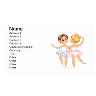 Danse Carte De Visite Standard