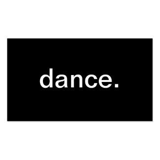 Danse Carte De Visite