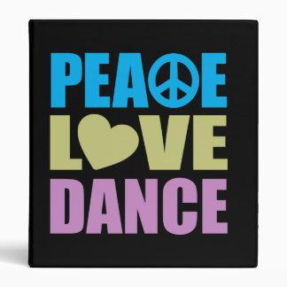 Danse d'amour de paix classeurs vinyle
