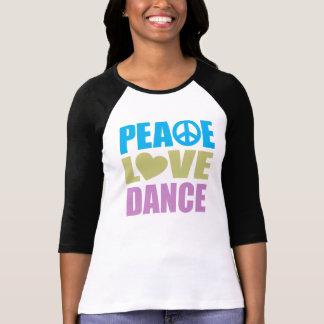 Danse d'amour de paix t-shirts