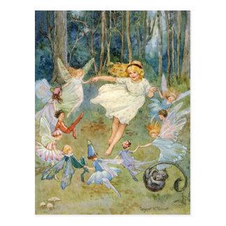 Danse dans l'anneau féerique cartes postales