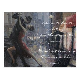 Danse de pluie cartes postales