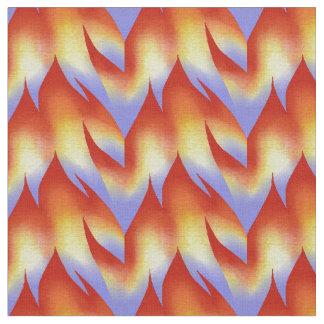 Danse des flammes tissu