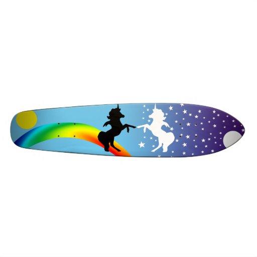 """""""Danse des licornes """" Skateboards Personnalisés"""