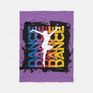 Danse et Lettres (Dance) Fleece Blanket