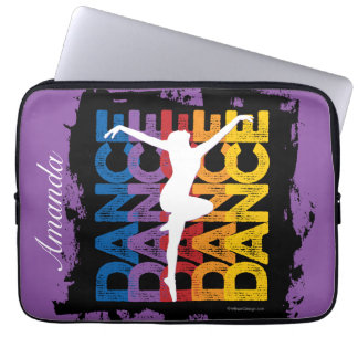 Danse et Lettres (Dance) Laptop Sleeves