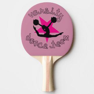 Danseur de Pom Raquette De Ping Pong