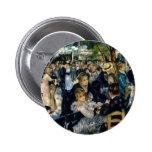 Dansez à la La Galette de Le Moulin de par Renoir Macaron Rond 5 Cm
