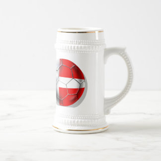 Dansk Fudbold Tees and gifts Beer Stein