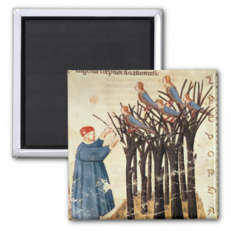 Dante and the Souls Transformed into Birds Magnet