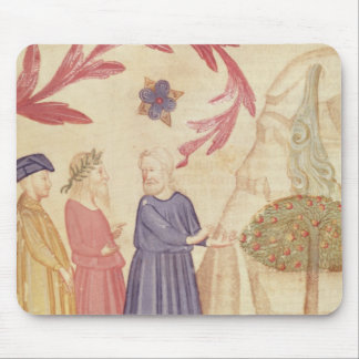 Dante and Virgil  in the Terrestrial Paradise Mouse Pad