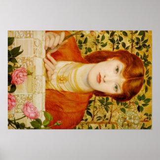 Dante Gabriel Rossetti Art Poster