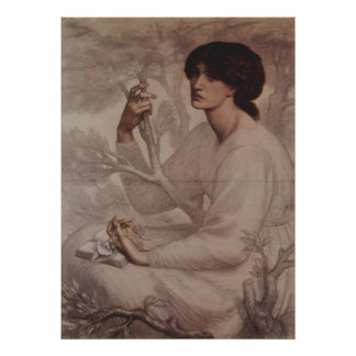 Dante Gabriel Rossetti - Daydream Poster