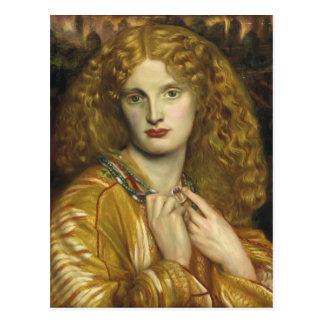 Dante Gabriel Rossetti: Helen of Troy Postcard
