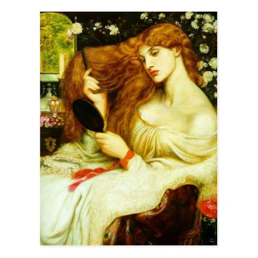 Dante Gabriel Rossetti- Lady Lilith Postcards