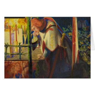 Dante Gabriel Rossetti - Sir Galahad at the Ruined Card