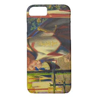 Dante Gabriel Rossetti - Sir Galahad at the Ruined iPhone 7 Case