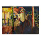 Dante Gabriel Rossetti - Sir Galahad at the Ruined Postcard