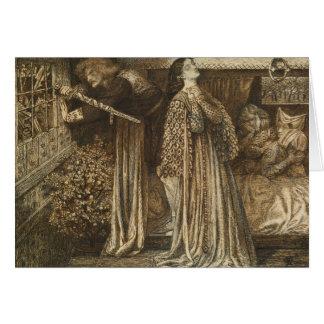 Dante Gabriel Rossetti - Sir Launcelot Card