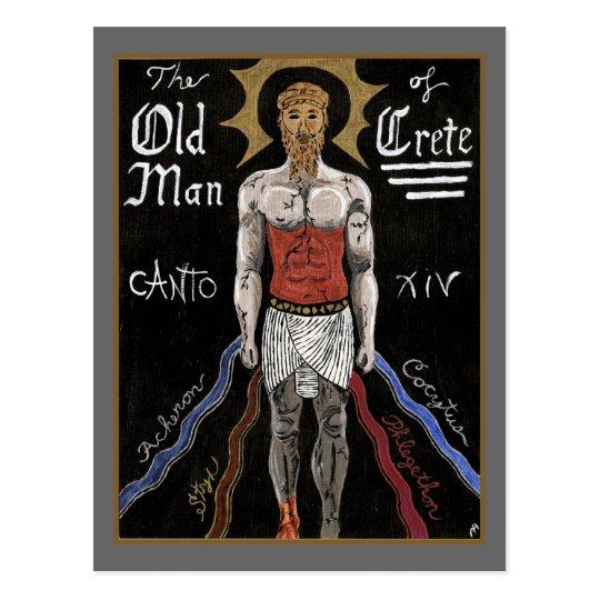 Dante's Inferno, Canto XIV Postcard