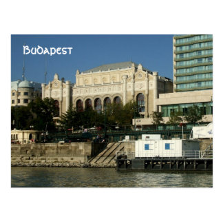 Danube band postcard