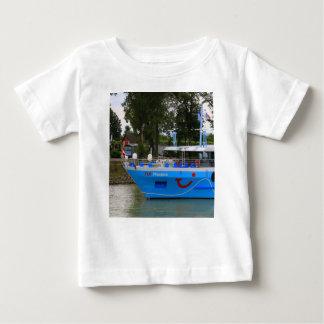 Danube cruise ship, Durnstein, Austria Baby T-Shirt