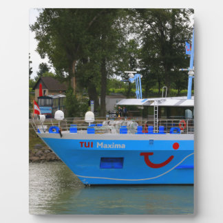 Danube cruise ship, Durnstein, Austria Plaque