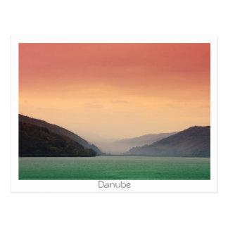 Danube River Postcard