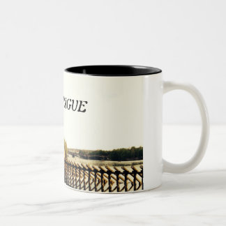 Danube River Two-Tone Coffee Mug