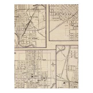 Danville, Shelbyville, Atlanta and Monticello Postcard