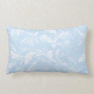 Danya blueberry cotton lumbar pillow