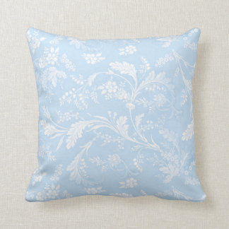 Danya blueberry cotton square pillow
