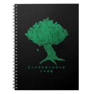 DAoC Hibernia Tree and Class Emblems Notebook
