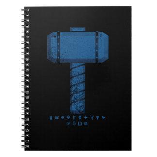 DAoC Midgard Hammer and Class Emblems Notebook