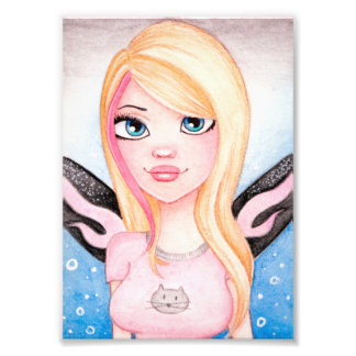 Daphne - Fairy Art by KLG - Art Print Art Photo