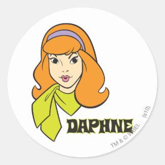 Daphne Pose 21 Classic Round Sticker