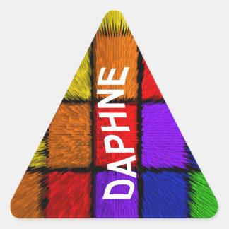 DAPHNE TRIANGLE STICKER