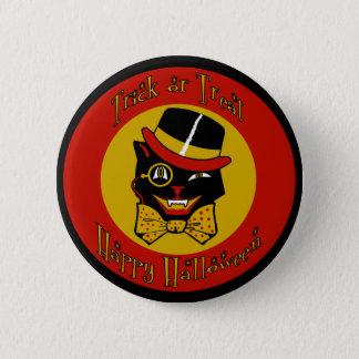 Dapper Cat 2 Inch Round Button