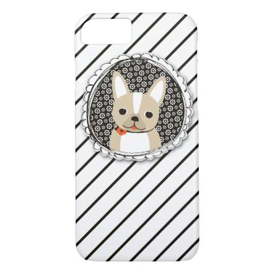 Dapper Frenchie iPhone 7 Barely ThereCase iPhone 8/7 Case