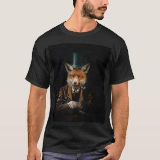 Dapper Victorian Fox Men's T-shirt