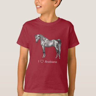 Dapple Grey Egyptian Arabian Horse T-Shirt