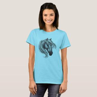 Dapple Grey Horse Head T-Shirt