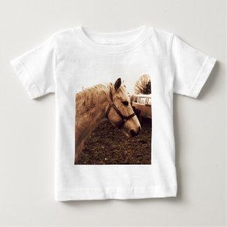 Dappled Horse and Bus Baby T-Shirt