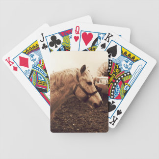 Dappled Horse and Bus Bicycle Playing Cards