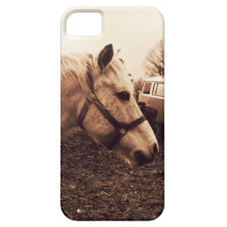 Dappled Horse and Bus Case For The iPhone 5