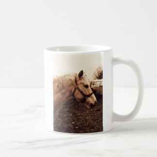 Dappled Horse and Bus Coffee Mug