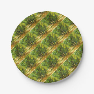 Dappled Light Of Daydreams s6 7 Inch Paper Plate