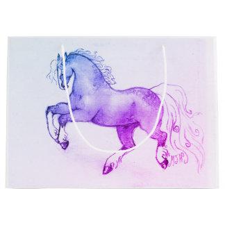 Dappled Pony Large Gift Bag Gloss Finish