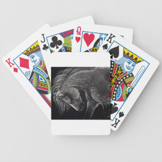 Dappledprint Bicycle Playing Cards