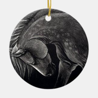 Dappledprint Ceramic Ornament